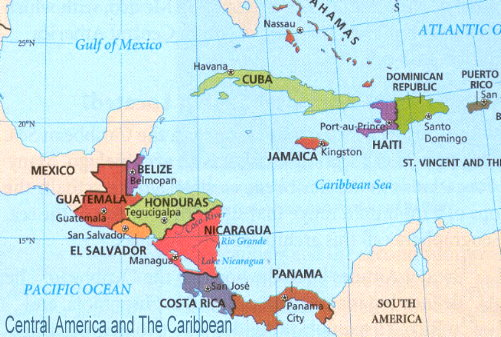 Central America and Caribbean News and Newspapers